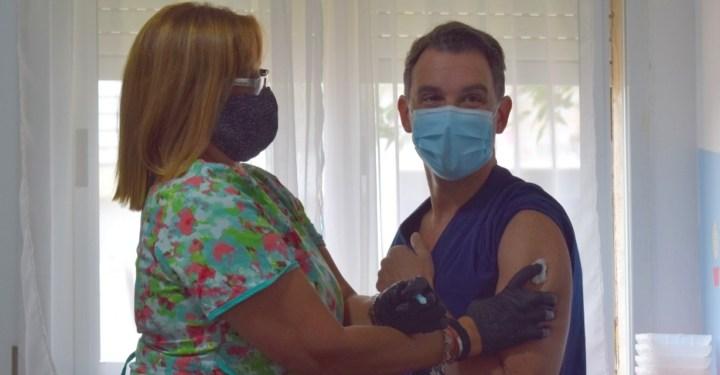 Día histórico para Totoras: Comenzó la vacunación contra el Covid-19 en la ciudad