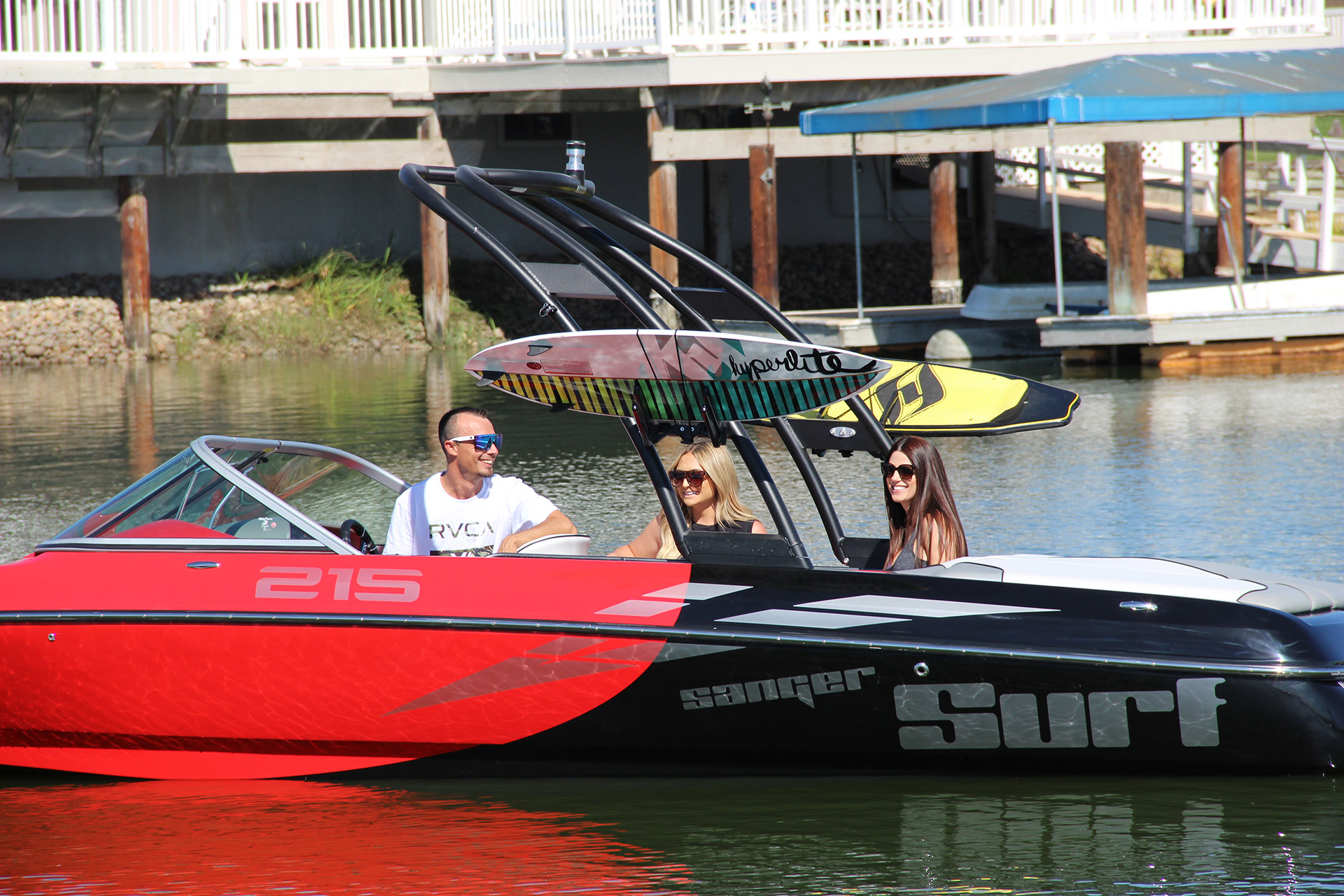hight resolution of  sanger v215 s wakesurf wakeboard boats sanger boats on 220 well pump wiring