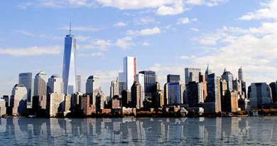 Manhattan skyline. Credit: Jaroslav Thraumb, Wikimedia Commons