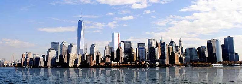 Manhattan skyline. Credit: Jaroslav Thraumb, Wikimedia Commons