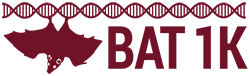 Bat1K - 1000 bat genomes project