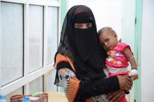 MSF supported cholera treatment center in Al-Sadaqa hospital, Aden, Yemen