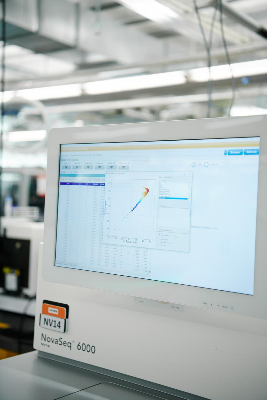 NovaSeq 6000 sequencing machine