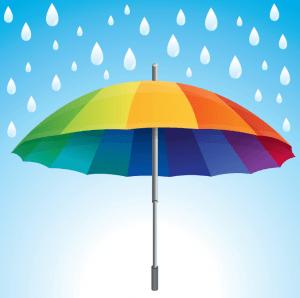 umbrella s a rainy