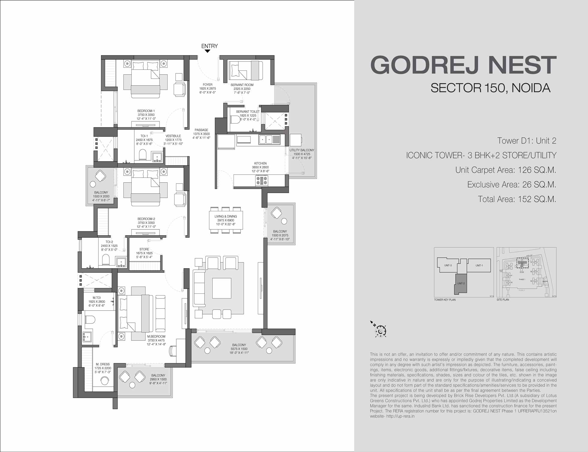 Godrej Solitaire Sector 150 Noida Price List Floor Plan