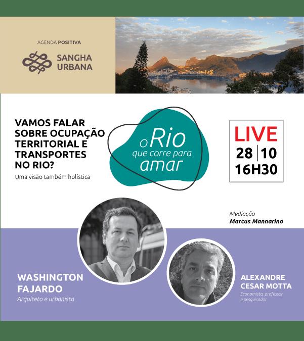 O Rio que corre para amar – live 02