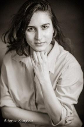 Curriculum-Bewerbungsfotos Nora Frankfurt am Main