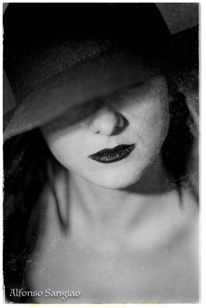 Mujer fotografía de retrato sensual