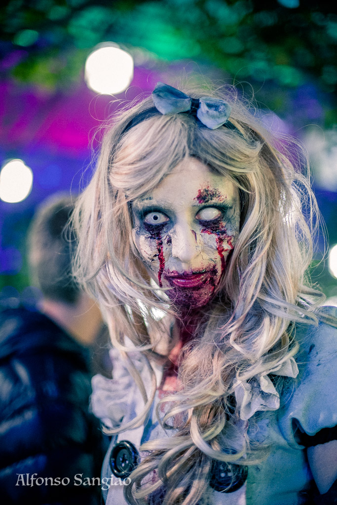 Zombie Cosplay de la Zombie Walk