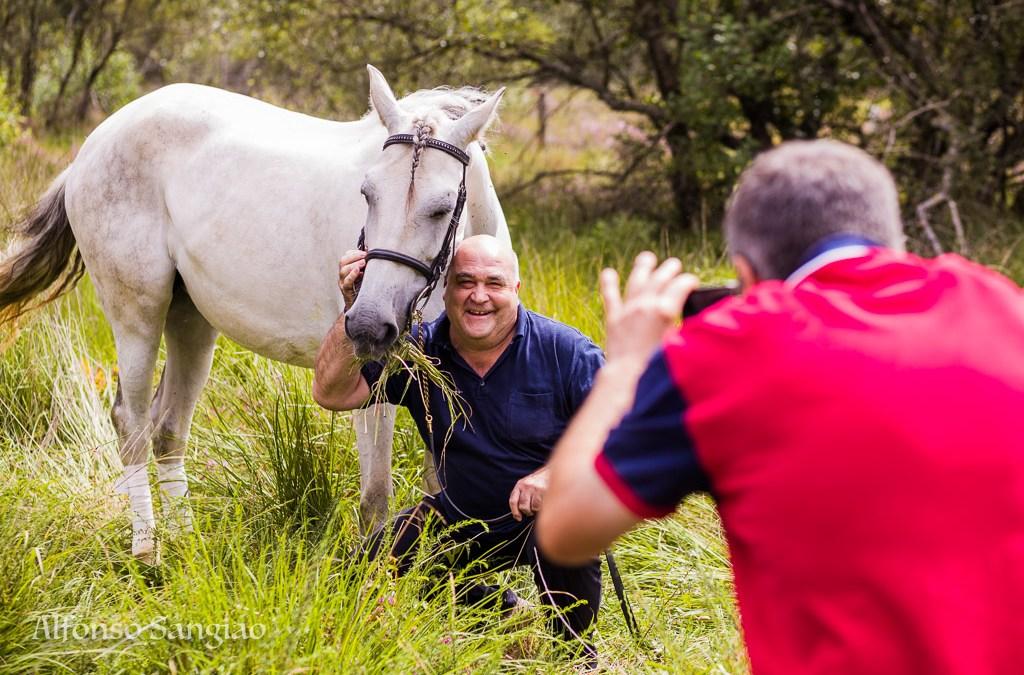 Curso de fotografía y coaching con caballos Coruña