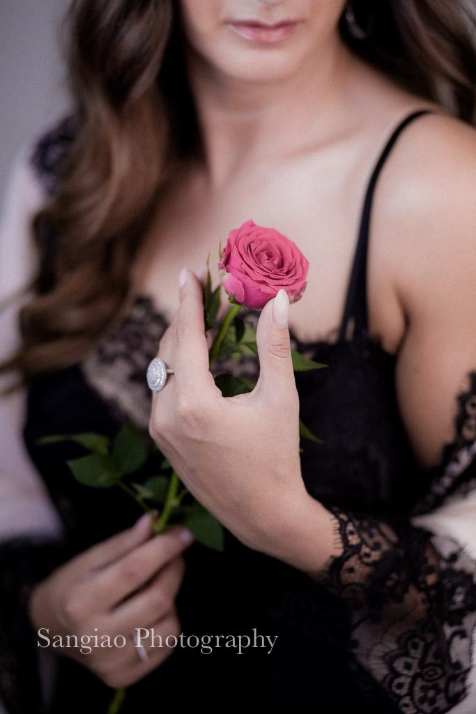fotografía Boudoir ideas rosa