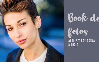 Book de fotos actriz y bailarina (Primera parte) | Sangiao, fotógrafo Madrid