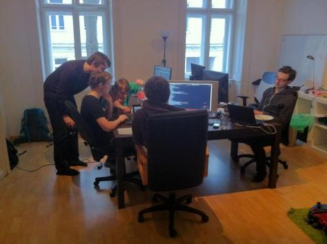 Leo Fasbender Team At Work