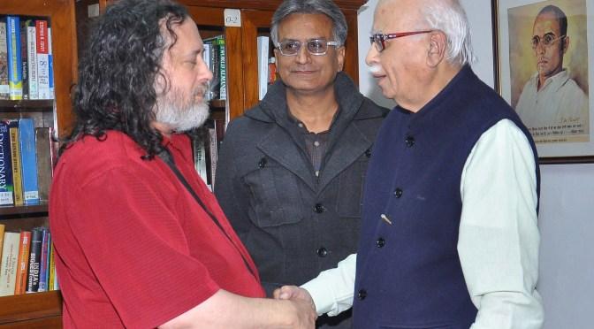 Shardul Pandey Talks To L. K. Advani & Richard Stallman