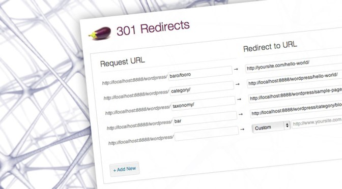 Eggplant 301 Redirects: A Robust Interface For Creating & Validating Redirects In WordPress