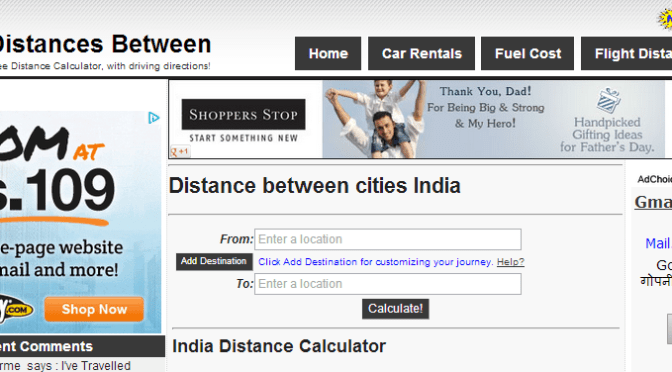 Powerful Utility For Calculating Distance Between Two Indian Cities & Knowing Their Driving Directions