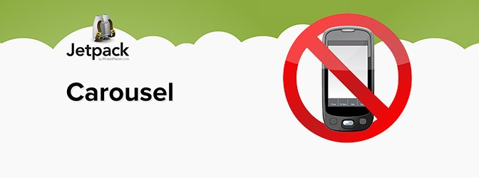 How To Disable Jetpack Carousel On Mobile Devices ?