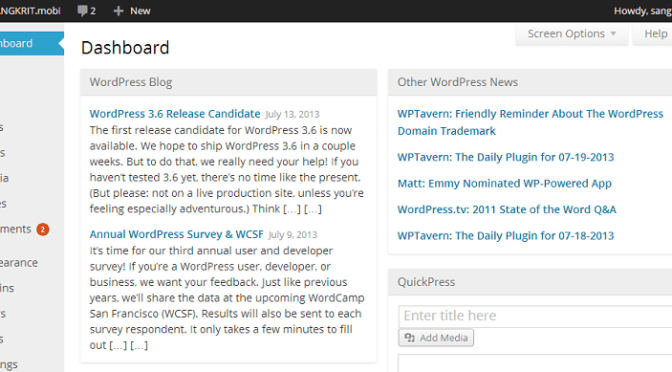 Lighten Up The Mood Of WordPress MP6 Interface
