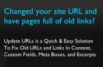 How To Update All WordPress Image & Content URLs In One Click ?