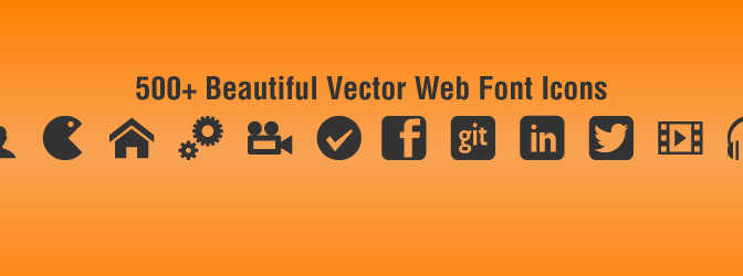 Easily Activate 500+ SVG Glyph Icons In WordPress