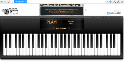 Best Online Virtual Piano 1