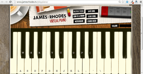 Best Online Virtual Piano 4