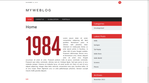 NewsWire Responsive WordPress Theme