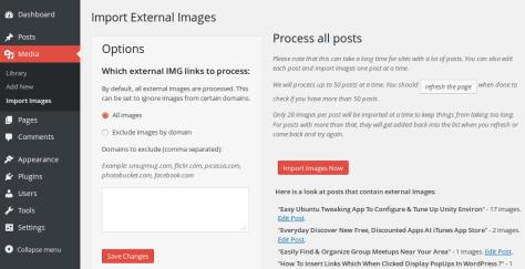 WordPress Image Importer 1