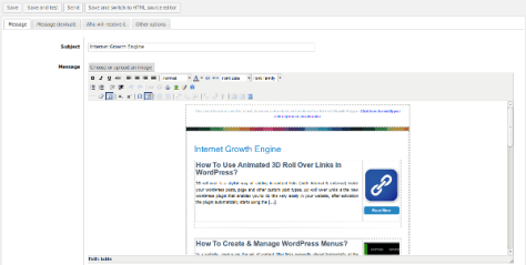 How To Qucikly Create An Awesome Newsletters System In WordPress?