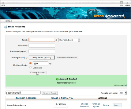 How To Create Email Accounts From cPanel? 3