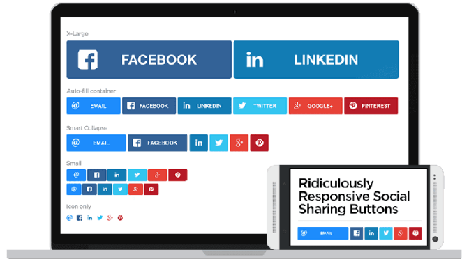Top 5 Plugins To Add Responsive Social Sharing Buttons In WordPress