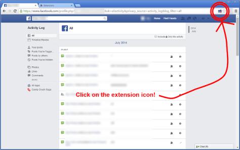 Facebook - Delete My Timeline 2