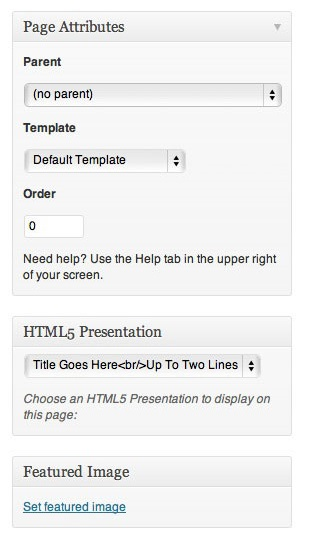 HTML5 Slideshow Presentations 4