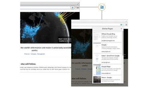 Google Similar Web Pages