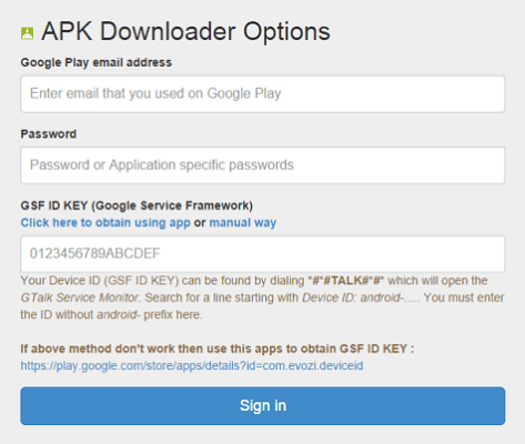 Android App Downloader for PC 1