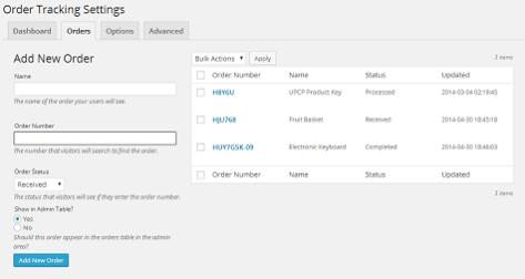 Order Tracking Plugin 1