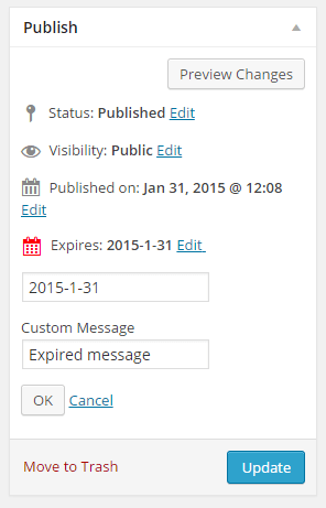 Content Expire Scheduler 1