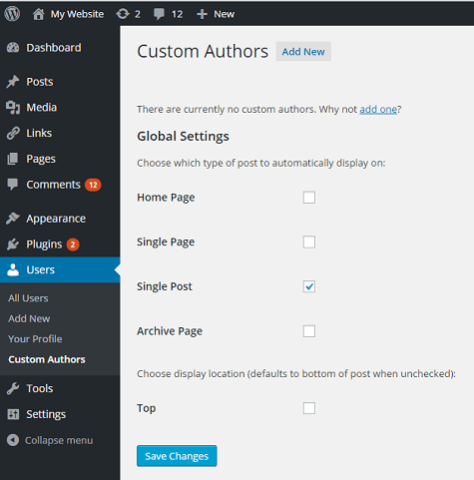 Custom About Author 2
