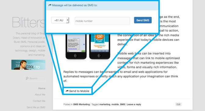 How To Add SMS Sharing Button In WordPress?