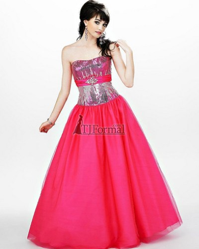 Cire by Landa Design Hot and Elegant Pink Prom Dress