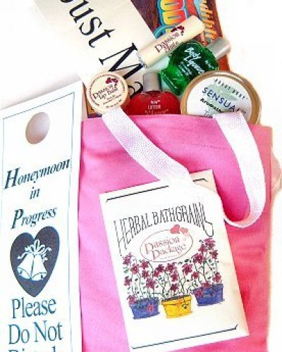 Honeymoon Passion Package Bridal Shower Gift