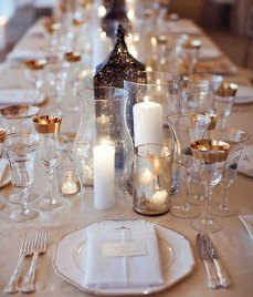 decorative wedding candle centerpieces