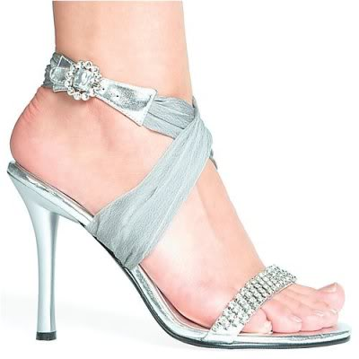 white ivory bridal shoes trend 2011