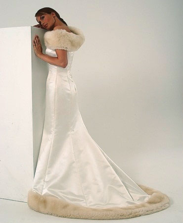white christmas wedding gowns