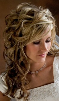 Curly Wedding Hairstyles Ideas