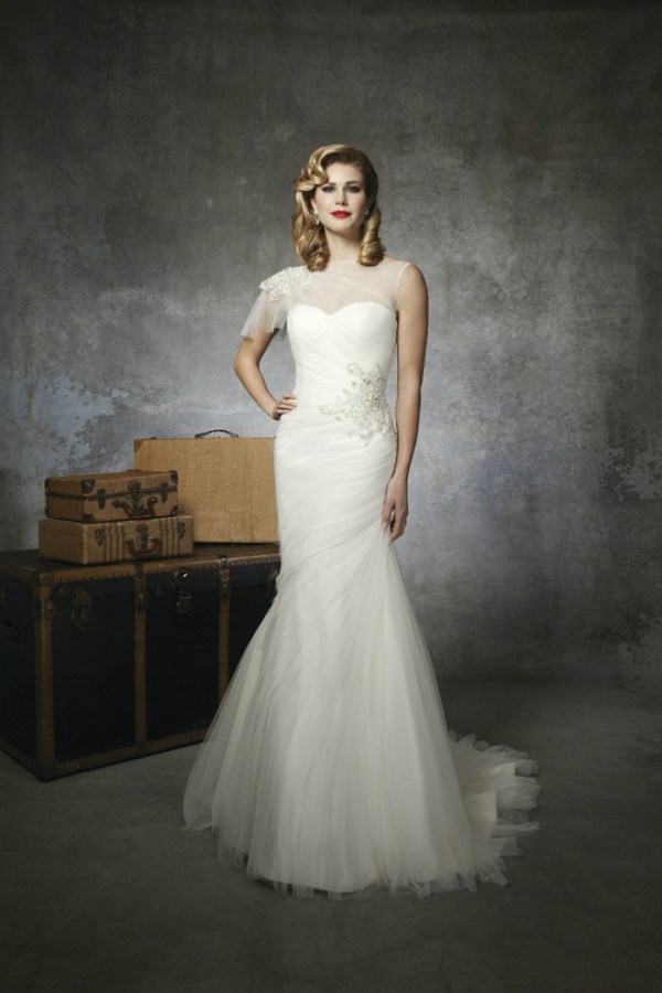 Justin Alexander spring wedding dress collection 2013