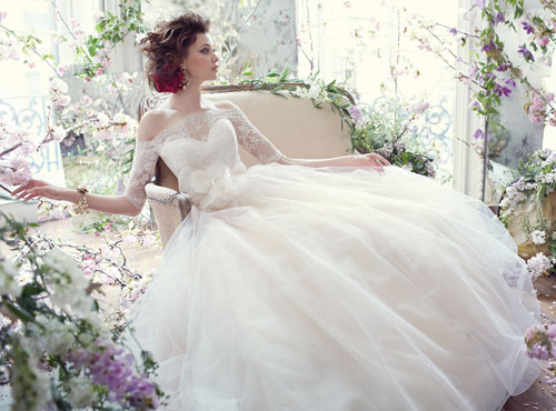 tara keely fall 2013 bridal ball gown with sweetheart neckline