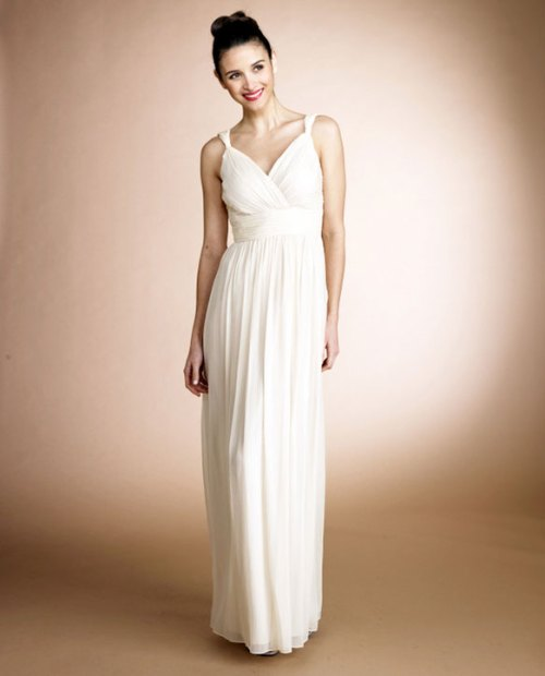 donna morgan jackie long wedding gown