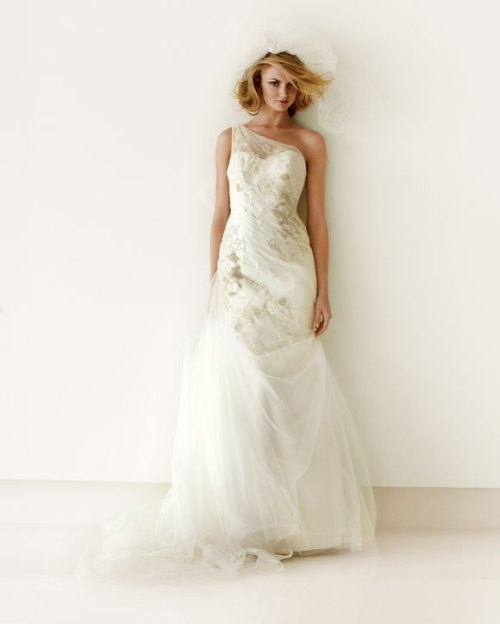 goddess wedding gown