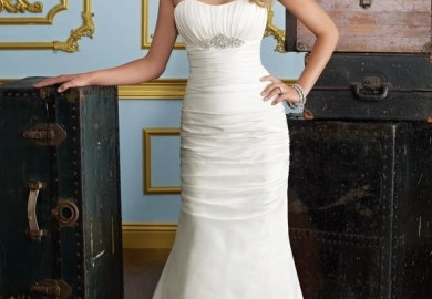 Strapless Wedding Gown Mermaid